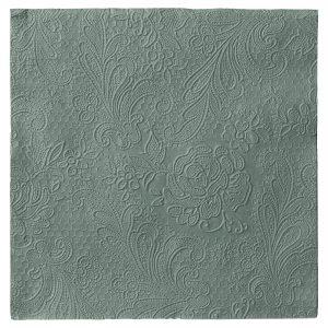 Serviette Uni Lace agavengrün