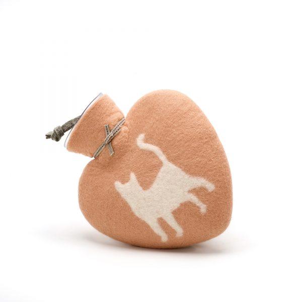 Dorothee Lehnen Herzwärmflasche Katze