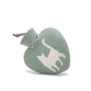 Herzwärmflasche Katze