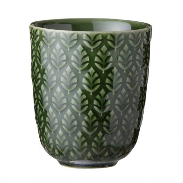 Bungalow Becher Neem fern, Keramiktasse