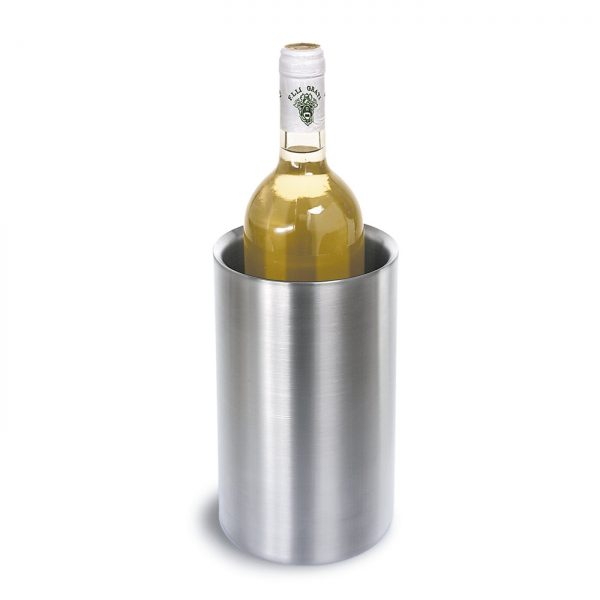 Flaschenkühler Edelstahl modern Flaschenkühler edel, Flaschenkühler schick, Designer Flaschenkühler, Kühleimer für Sekt, Sektkühler, Weinkühler