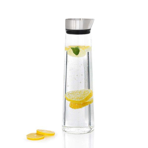 Wasserkaraffe Wasserflasche, gesundes Wasser, Karaffe für Wasser, Designerkaraffe, schicke edle Wasserkaraffe, Wasserflasche edel