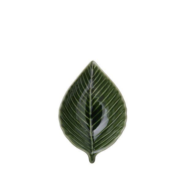 Snackschale Dekoschälchen Blattgrün Dekoschale Designerschale Obstschale