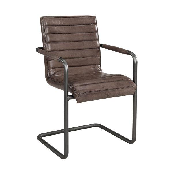 Artwood, Esszimmerstuhl, schöner Stuhl, Lederstuhl