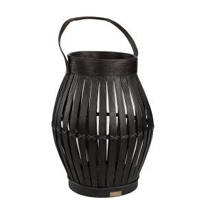 Laterne Birdcage schwarz