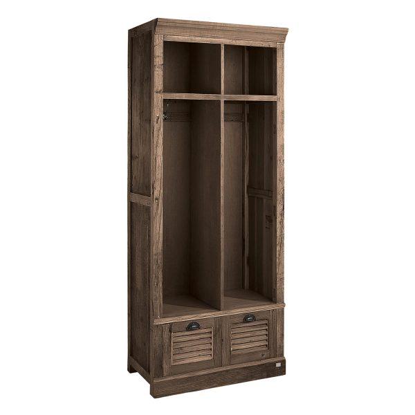 Garderobe Schrank Holz Artwood
