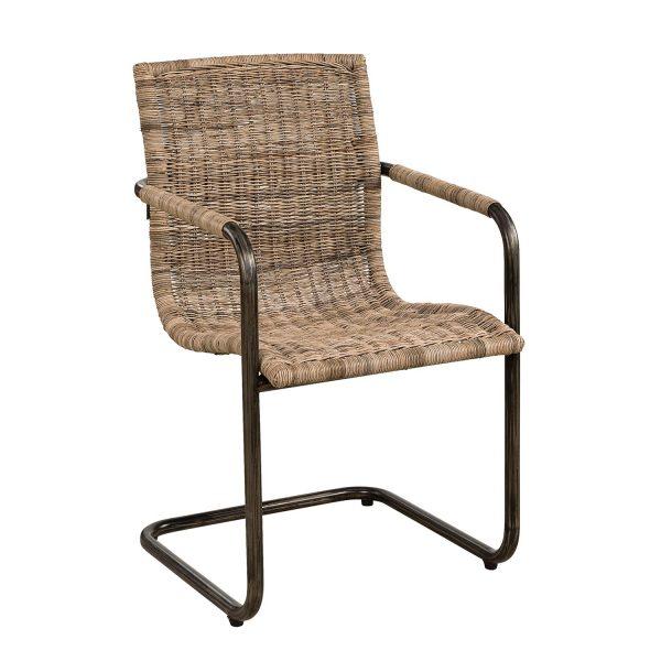 schöner Stuhl, Korbstuhl, Ratten, Artwood