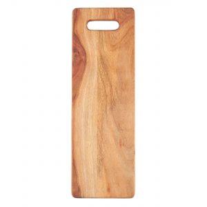 Tapasbrett länglich geöltes Akazienholz
