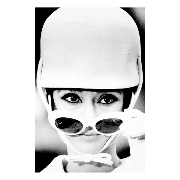 HEPBURN Audrey Bild Wandbild Kino Style Sonnenbrille Vorbild Model