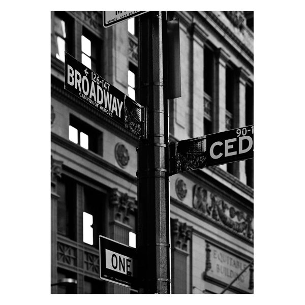 Broadway New York Streets Famous street light broadway sign