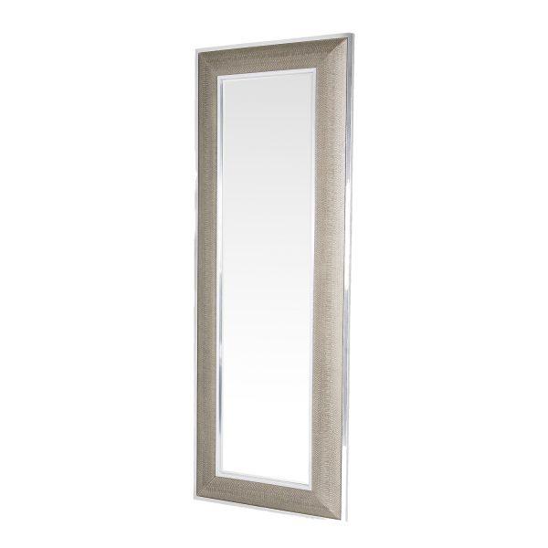 Spiegel Garderobe Schlangenprint Mantel Ganzkörperspiegel, Luxus, Designerspiegel, elegant, schick