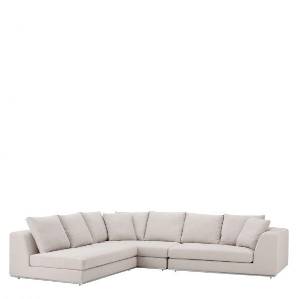 Sofa edel Luxus schick hochwertig creme weiss