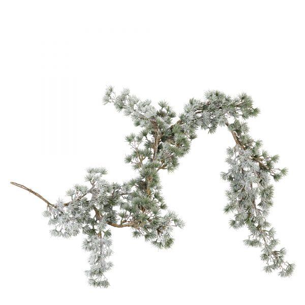 schöne Girlande, Weihnachtsbaum Schmuck, Weihnachtsdekoration, Kieferngirlande, Lene Bjerre
