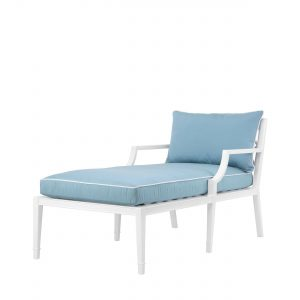 Chaise Longue Bella Vista weiss