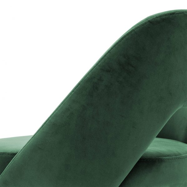 smaragdgrüner stuhl